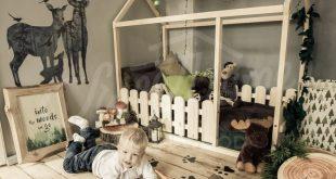 Montessori bed, house bed, children bed, Toddler bed, kid bed, wood bed, Montessori floor bed, nursery crib, kids bedroom, floor bed