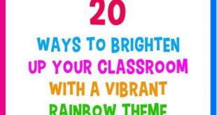 20 Ways to Brighten Up Your Classroom With a Vibrant Rainbow Theme