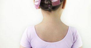 Simple Ballet Bun Hairstyle. Follow along! IG: Hai+#Ballerina #Ballet #Bow #Brai...