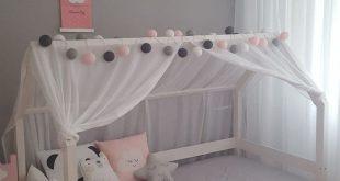 Süßes Mädchen Kinderzimmer - #Kinderzimmer #Mädchen #montessoriano #Süßes
