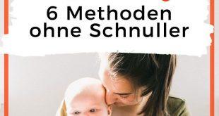 Baby beruhigen: 6 Methoden zum Trösten