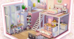 Just a lil' loft dollhouse @smartmilkboxes