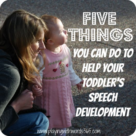 Want My 5 Tips to Help Your Toddler's Speech and Language Development