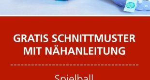 Anleitung und Schnittmuster: Baby-Ball