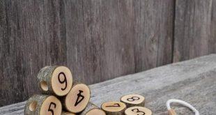 Holz Spielzeug Schnürung, Nummer Schnürung Spielzeug, Montessori Mathematik, Montessori praktisches, Kleinkind-Geschenk, Waldorf Spielzeug, natürliches Spielzeug
