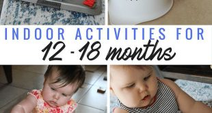 Indoor-Aktivitäten für Kleinkinder für 12-18 Monate - #activities #für #Indo...