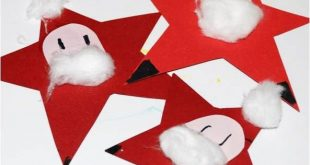 Kids Get Crafty - Nikolaus Sterne oder Santa Stars