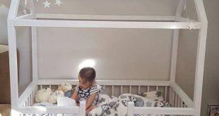 Kleinkindbett Twin Größe Babybett Kinderbett ... - #Babybett #Große #Kinderbe...
