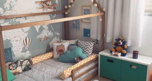 Lassen Sie sich inspirieren, um mit diesen Dekorationen und Möbeln einen modischen Raum für kleine Jungen zu schaffen. Weitere Informationen finden Sie auf circu.net