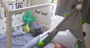 Montessori Kinderbetten Feldbett Haus Betthaus Holzhaus Kinder Tipi Babybett Kinderbett Bahnsteigbett Kindermöbel VOLL / DOPPEL - Petoolela Crochet