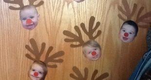 Rentierkinder Weihnachten basteln. Kleinkinderzimmer. #basteln #kleinkinderzimm...