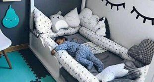 Sonderanfertigung Kinderbett Stoßstange abnehmbare Abdeckung Schlange - #abdeck...