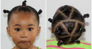Toddler Bantu Knots | Toddler Hairstyles - YouTube