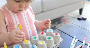 Unterhaltsame Aktivitäten, die Ihrem Kind helfen, Farben zu lernen - - # Nachde...
