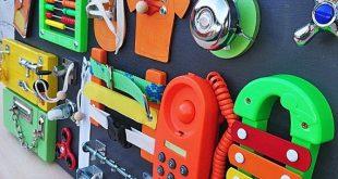 Verkaufsschlager! Kleinjungheit beschäftigt Activity Board für Kleinkind Busyboard Montessori beschäftigt Brett Fidget Board Sensory Board Wooden Spielzeug